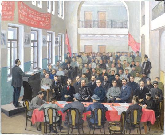 В музее Великого Устюга покажут запрещенную в СССР картину местного художника Николая Бекряшёва