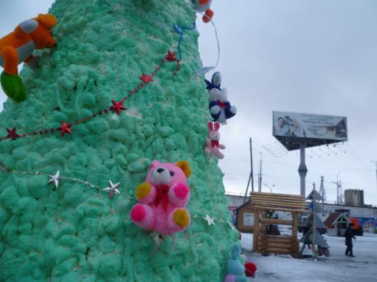 Лучшую альтернативную новогоднюю ель выберут в Вологде