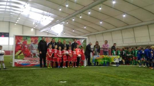 Детский футбольный клуб Олимп из Вологодского района завоевал серебро всероссийских соревнований