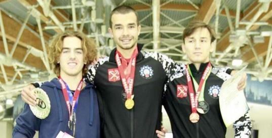 Череповчанин Артем Арефьев стал победителем Всероссийских соревнований по конькобежному спорту