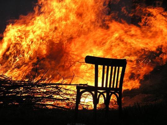 52-летний мужчина погиб на пожаре в Вологодском районе
