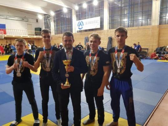 Вологодские спортсмены завоевали награды международного турнира по боевому самбо