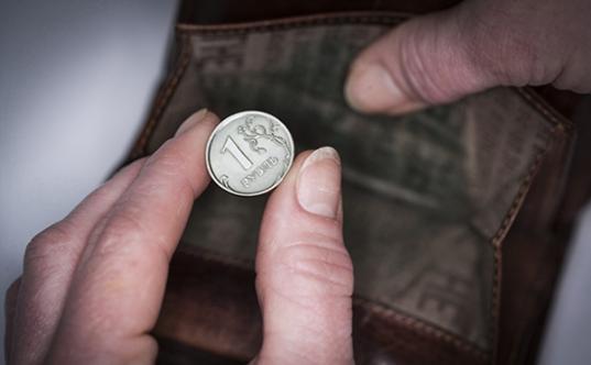 Реальные доходы жителей Вологодской области за год упали на 8%