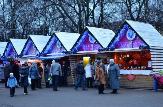 На Рождественской ярмарке в Вологде будет работать бочка-баня