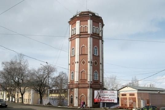 Водонапорную башню на улице Сергея Орлова в Вологде реконструируют под музейно-выставочный центр