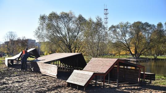 Из «Треугольного сада» в Ковыринском парке сделают «Треугольный пирс»
