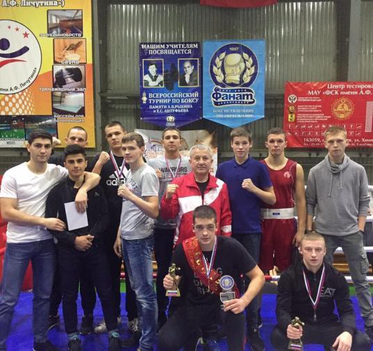 Вологодские боксеры завоевали девять медалей на Всероссийском турнире