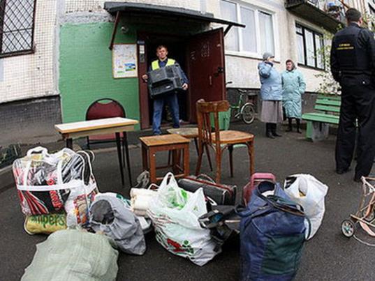 В Вологде семью выселили из квартиры за долг по ипотеке