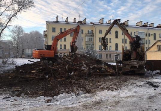 В Комитете по охране памятников подтвердили незаконность сноса исторического дома на Зосимовской в Вологде