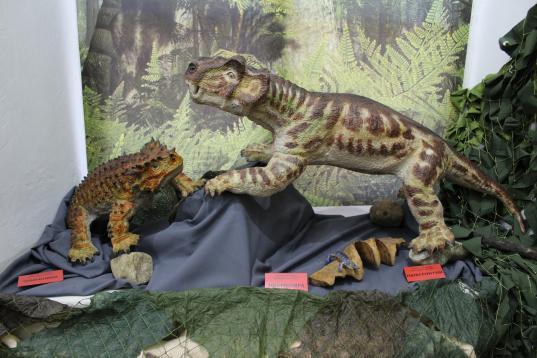 В Тотьме воссоздают ящеров, которые жили в Присухонье миллионы лет назад