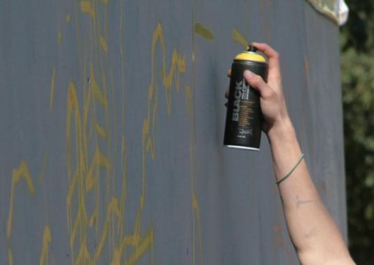 Череповчанин избил работницу закусочной и раскрасил из баллончика стены павильона