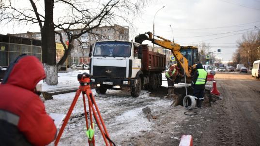 В Вологде улицу Предтеченскую перекроют ночью 24 и 25 ноября