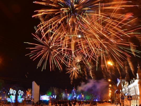 Из бюджета Вологды потратят на новогодние праздники еще 730 тысяч рублей