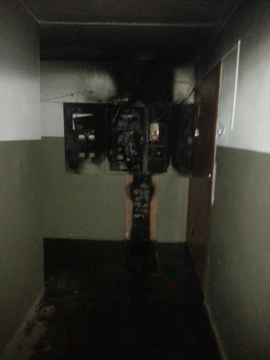 В Череповце из-за замыкания кабеля в многоэтажке пожарные эвакуировали 60 человек