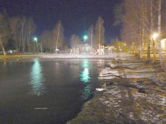 В Грязовце трое мужчин спасли провалившегося под лед 8-летнего мальчика