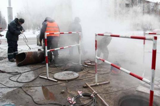 Два километра тепловых сетей заменили в Череповце в 2018 году