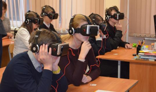 Технологии виртуальной реальности на уроках технологии и ОБЖ будут использовать в шести вологодских школах